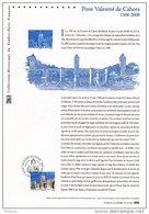 """FRANCE 2008 : """" PONT VALENTRE DE CAHORS"""" Sur Document Philatélique Officiel. N° YT 4180. DPO - Ponts"""