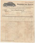 Invoice * Portugal * Lisboa * 1941 * Reparações Electricas De Automoveis * Edmundo Dos Santos - Portugal