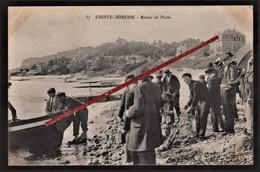 76 SAINTE-ADRESSE - LE HAVRE -- Retour De Pêche _ Pêcheurs Sur La Plage. - Sainte Adresse