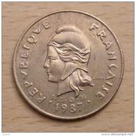 Nouvelle Calédonie 100 Francs 1987 - Nuova Caledonia