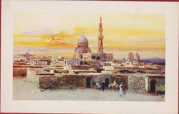 Egypte Egypt Ägypten Egipto Egitto Mamelouk Tombs Cairo Tombeaux Des Mamelouks Edicione D'Arte Astro Italia Illustrator - Cairo