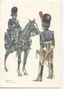 Militaria Costumes Militaires Uniformes Belges : Gendarmes 1832 (James Thiriar Illustrateur) Hommage 14/18 Et 40/45 - Uniformen