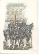 Militaria Costumes Militaires Uniformes Belges : Gendarmes Escorte 1918 (James Thiriar Illustrateur) Hommage 14/18 40/45 - Uniformen