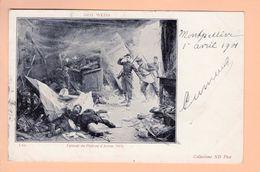 Cpa Carte Postales Anciennes - Geo Weiss Episode Du Plateau D Avron - Peintures & Tableaux