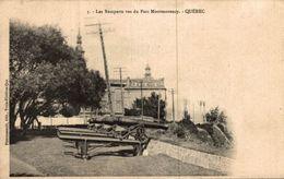 LES REMPARTS VUS DU PARC MONTMORENCY QUEBEC - Quebec