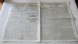 GRECE - SECONDE ATTAQUE DES INSURGES GRECS CONTRE MISSOLONGHI - ( JOURNAL DES DEBATS DE 1836.) - 1800 - 1849