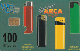 MONTENEGRO - Arca Lighters, SUN Ice Cream, Tirage 50000, 06/01, Sample No CN - Montenegro