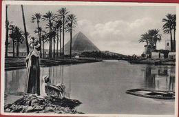 Egypte Egypt Ägypten Egipto Egitto Cairo Le Caire Flood Time Near Pyramids - El Cairo