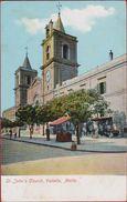 Malta Saint St. John's Church Valletta Malta - Malte