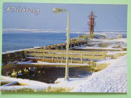 "Poland 1999 Postcard """"Kolobrzeg Coast Lighthouse"""" Belsko Biala To England - Due Tax - Country Estates Bronowicach - Polen"