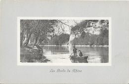 Les Bords Du Rhône, Promenade En Barque - Edition Jullien Frères - Carte De Luxe J.J. N° 5131 Non Circulée - Switzerland