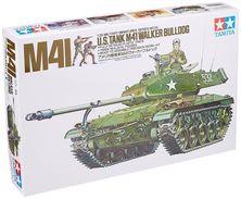 US Tank M41 Walker Bulldog 1/35 ( Tamiya ) - Military Vehicles