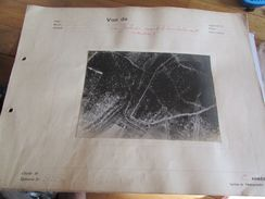 WW1 French Army Trench View From Airplane Photo 1915 - 1914-18