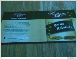BIERETIKET HETTINGA HANZE PORTER ROBUUST - Beer