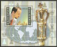 Bulgaria 2006 Mi# Block 284 A ** MNH - Vesselin Topalov, World Chess Champion - Chess