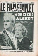 Le FILM COMPLET DU SAMEDI - MONSIEUR ALBERT - Noël NOËL - Edwige FEUILLERE - Cinéma/Télévision