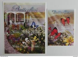 Micronesia 2002** Klb.1366-71.+Bl.116. Butterflies MNH [15;82] - Vlinders