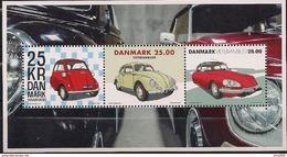 2017 Dänemark Mi. Bl 68 **MNH     Oldtimer. - Hojas Bloque