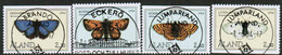 1994 Aland Islands Michel 82 - 85 With Luxury Cancellations. - Aland