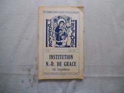 CAMBRAI INSTITUTION NOTRE-DAME DE GRACE LE JONGLEUR DE NOTRE DAME N°40 MARS 1961 DES NOUVELLES DE LA TROUPE SCOUTE.....! - Religion & Esotérisme