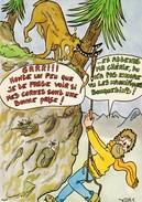 ESCALADE.- Carte Humoristique - Escalade