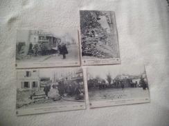 4 CARTES EXPLOSION DE SAINT-DENIS ..4 MARS 1916 .. - Catastrophes