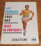Athlétisme 1964. Les Français Face Aux Jeux Olympiques. - Sport