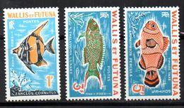 Col 4/ Wallis Et Futuna  Taxe N° 37 à 39  Neuf X MH Cote 6,00€ - Timbres-taxe