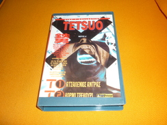 TETSUO Part A' Old Greek Vhs Cassette Tape From Greece - Action, Adventure