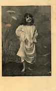 Zaanstreek,  Albumplaatje, Jugendstill Meisje In Pyama , 1920's - Reclame