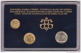 SERBIA COINS SET 2005 YEAR , NATIONAL BANK OF SERBIA,   UNC - Serbie