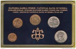 SERBIA COINS SET 2006 YEAR , NATIONAL BANK OF SERBIA,   UNC - Serbie