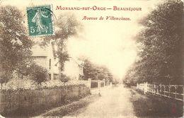 CPA Morsang Sur Orge Beauséjour Avenue De Villemoisson - Morsang Sur Orge