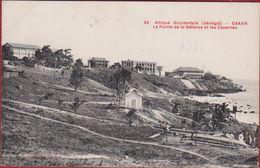 SENEGAL Afrique Occidentale DAKAR 1913 La Pointe De La Defence Et Les Casernes Collection Gautron Afrika Africa - Sénégal