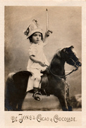 Zaanstreek, Wormerveer, De Jong,  Albumplaatje, Ridder Te Paard , 1920's - Reclame