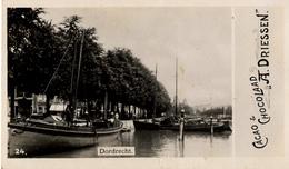 Rotterdam, A.Driessen, Dordrecht Haven No.24 Albumplaatje, 1920's - Reclame