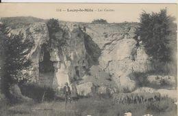 D36 - LUCAY LE MALE - LES GROTTES - (TROUPEAU DE MOUTONS) - France