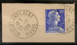 MOULINS ENGILBERT Nièvre Sur Fraguement. - 1921-1960: Periodo Moderno