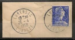 LUBERSAC Corrèze Sur Fraguement. - 1921-1960: Periodo Moderno
