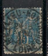 MEYLIEU MONTROND Loire Sur SAGE. - 1876-1898 Sage (Type II)