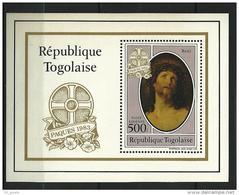 """Togo Bloc YT 175 """" Pâques """" 1983 Neuf** - Togo (1960-...)"""