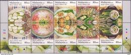 Malaysia 2010 S#1321 Traditional Festive Food MNH - Malaysia (1964-...)