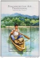 Malaysia 2005 S#1049 Traditional Water Transport M/S MNH - Malaysia (1964-...)