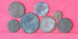 LOT 7 PIECES TO IDENTIFY     - (Nº10371) - Monnaies & Billets
