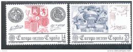 CEPT Historische Ereignisse Spanien 2545 - 2546   ** Postfrisch - Europa-CEPT