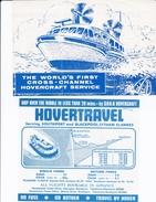 HOVERCRAFT>SR N2>SR N6>HOVERTRAVEL>P&A CAMPBELL/WESTLAND - Europe