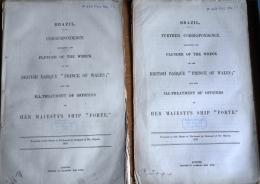 1863 British Government Reports (2) Brazil. HMS Prince Of Wales, Ship Wreck / Prisoners. Anglo-Brazilan War - Books, Magazines, Comics