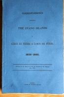 1852 English Government Parliament Report. 'The Guano Island, Lobos De Tierra, Lobos De Fuera 1833-52' Peru USA + 5 Maps - History