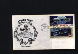 USA   Apollo - Soyuz   Raumfahrt / Space Interesting Letter - Covers & Documents