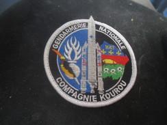 Ecusson Tissu Gendarmerie - Police